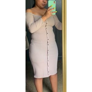 Dresses & Skirts - Ribbed bodycon dress